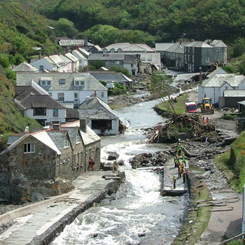 Boscastle flood - Responses Flashcards | Quizlet